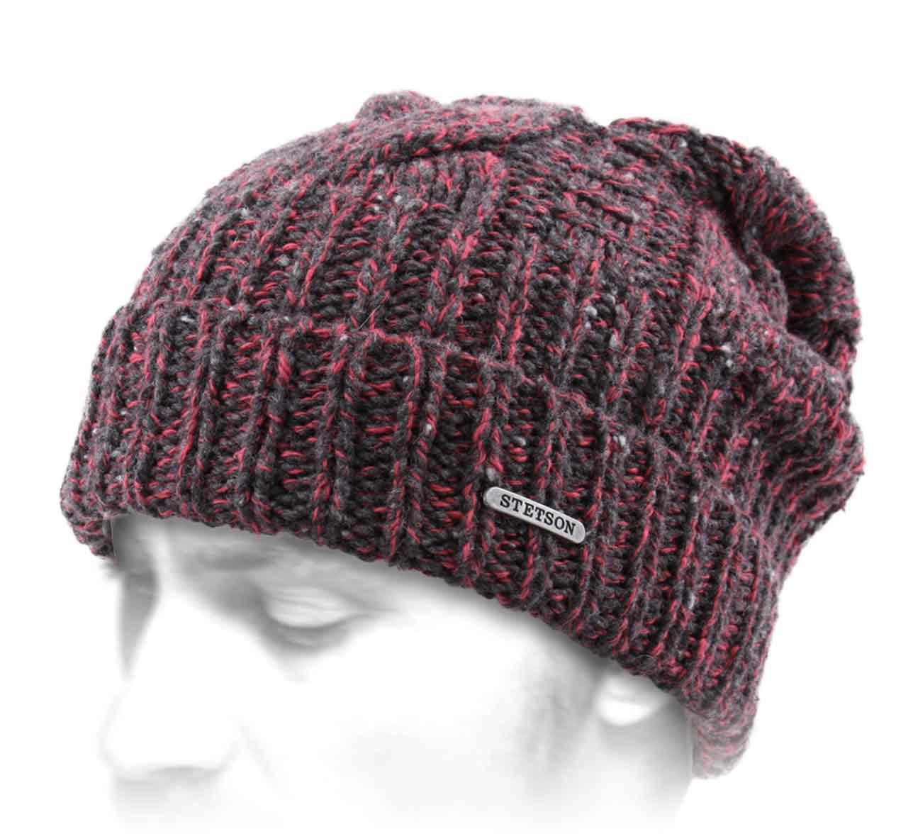 Long Beanie Wool Coton - Beanies Stetson 7432c732741b